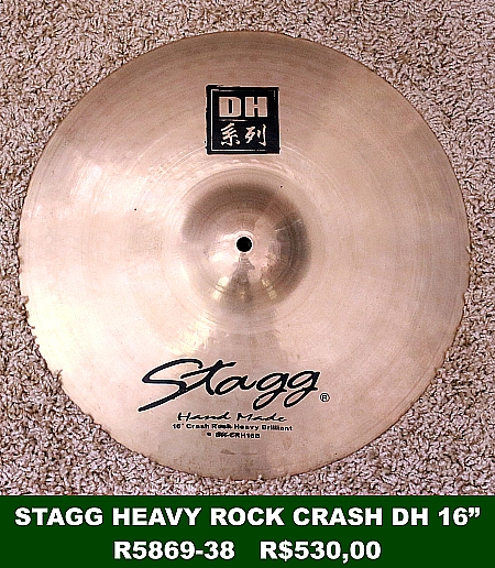STAGG - Heavy Rock Crash DH 16