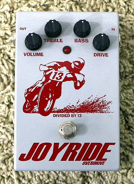 DIVIDED BY 13 - Pedal Joyride Overdrive