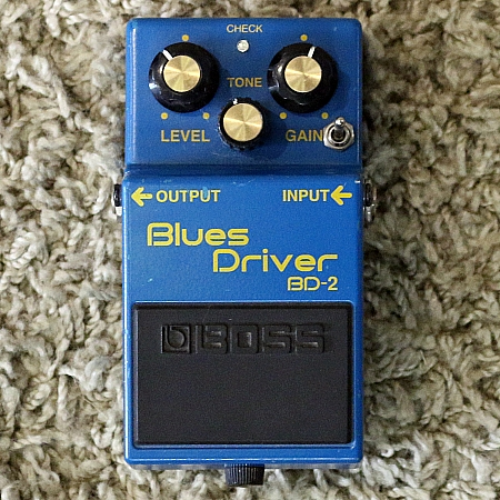 BOSS Pedal P/ Guitarra Blues Drive BD-2 Modified