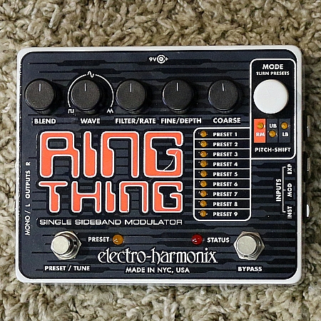 ELECTRO-HARMONIX Pedal P/ Guitarra Ring Thing