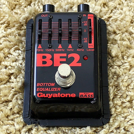 GUYATONE - Pedal Bottom Equalizer BE-2