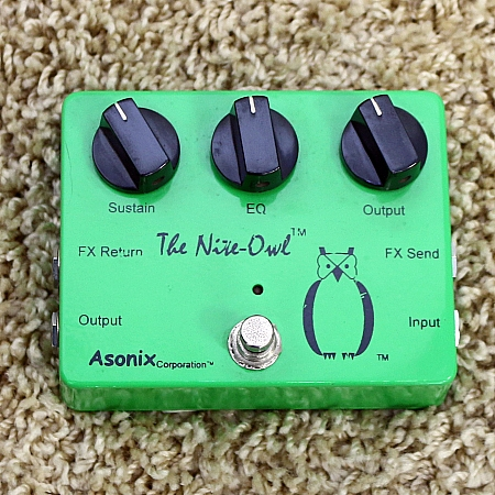ASONIX - Pedal The Nite-Owl Limited Edition Distortion
