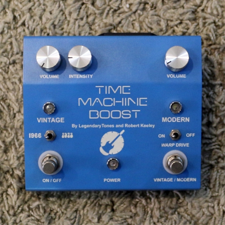 LEGENDARY TONES KEELEY Pedal Time Machine Boost