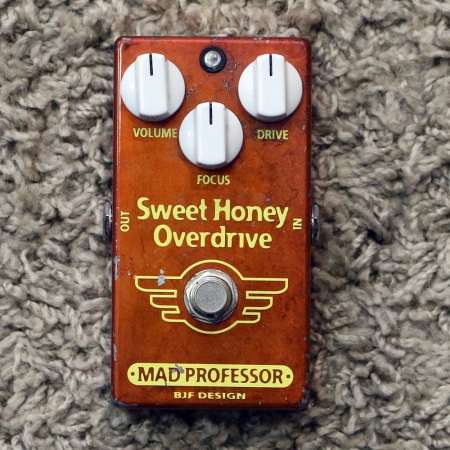MAD PROFESSOR Pedal p/ Guitarra Sweet Honey Overdrive