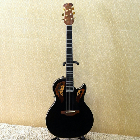 OVATION - Violão Viper EA-68 Black c/ Case